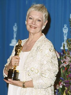 Dame Judi Dench, best supporting actress (won: Shakespeare in Love – 1998)