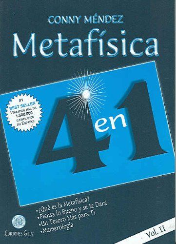 2 Metafisica 4 En 1 Vol Ii Spanish Edition By Conny Numerology Books Book Recommendations