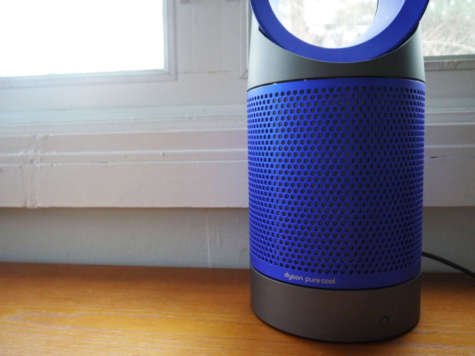 Dyson s super quiet Pure Cool air purifier removes 99 95  of harmful  particles in the air. Dyson s super quiet Pure Cool air purifier removes 99 95  of