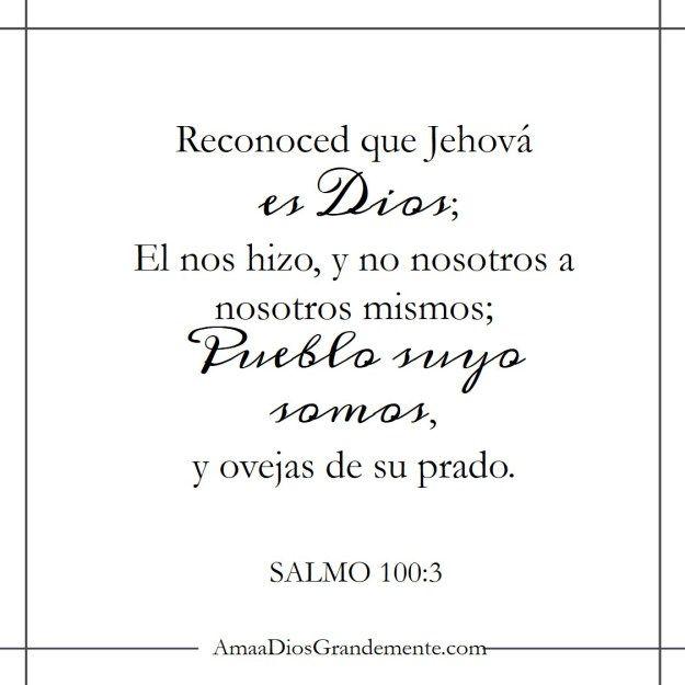 Nombres de Dios Semana 2 Para memorizar #AmaaDiosGrandemente ...