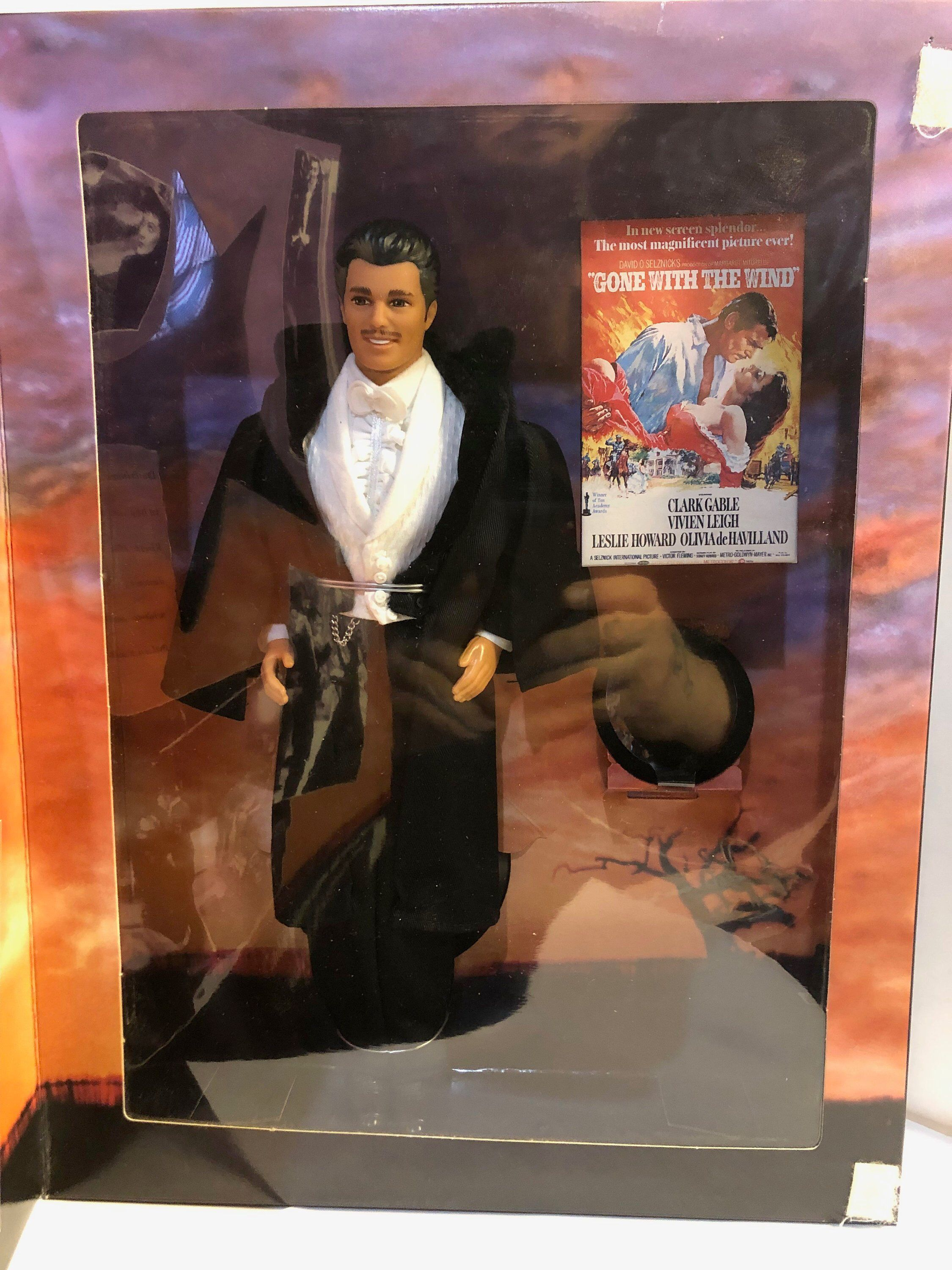 Vintage 1994 Hollywood Legends Collection Ken as Rhett Butler Doll by Mattel Never Opened #hollywoodlegends Excited to share this item from my #etsy shop: Vintage 1994 Hollywood Legends Collection Ken as Rhett Butler Doll by Mattel Never Opened #toys #gold #black #ken #rhett #gonewiththewind #butler #doll #collectible #hollywoodlegends