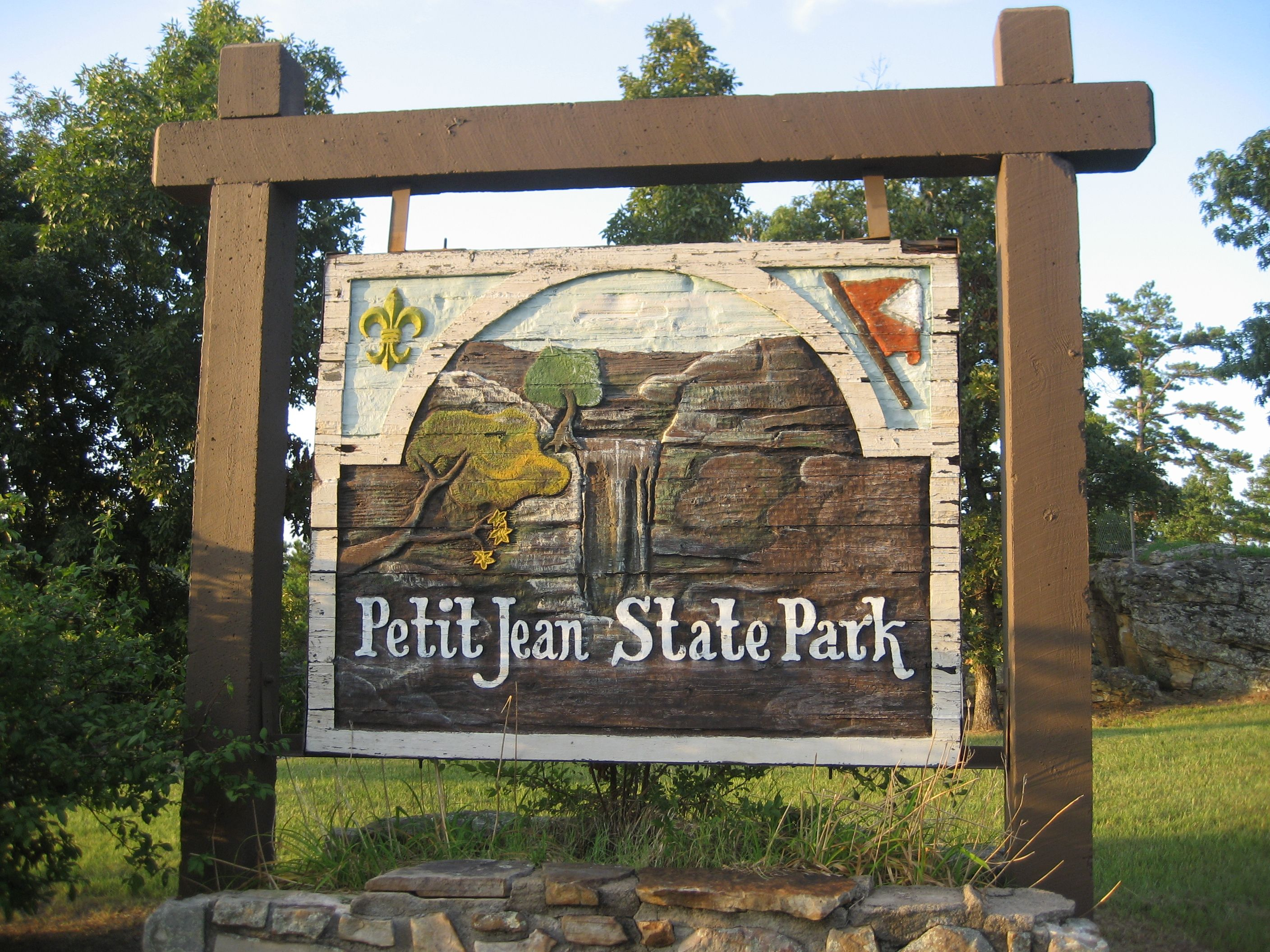 petit jean state park arkansas so hot and humid but one. Black Bedroom Furniture Sets. Home Design Ideas