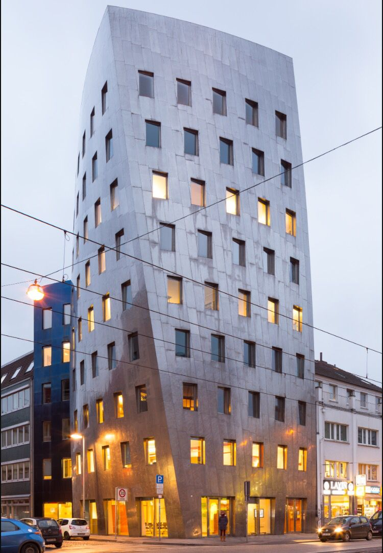 Gehry Tower Hannover Germany Frank Gehry