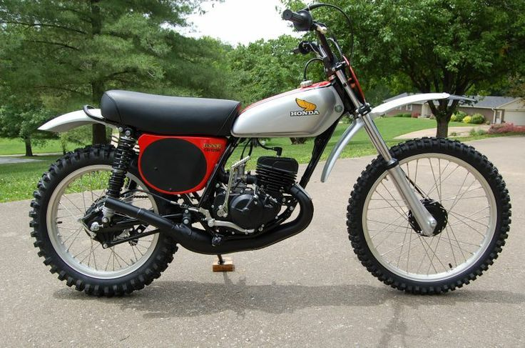 197 Honda 125 Elsinore Honda Dirt Bike Vintage Honda Motorcycles Honda