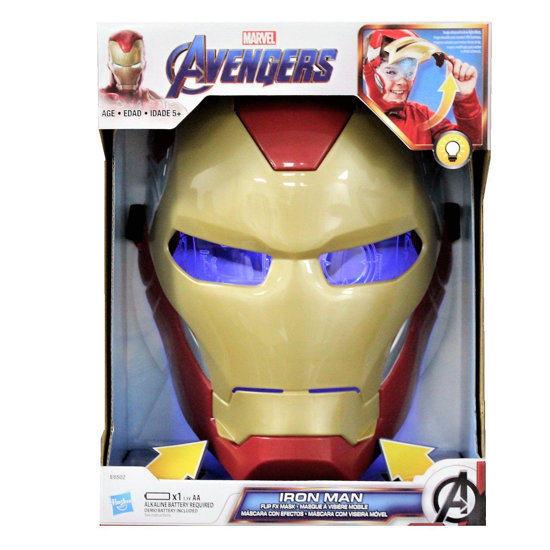 Avengers Endgame Iron Man Flip Fx Mask Avengers Marvel Hasbro