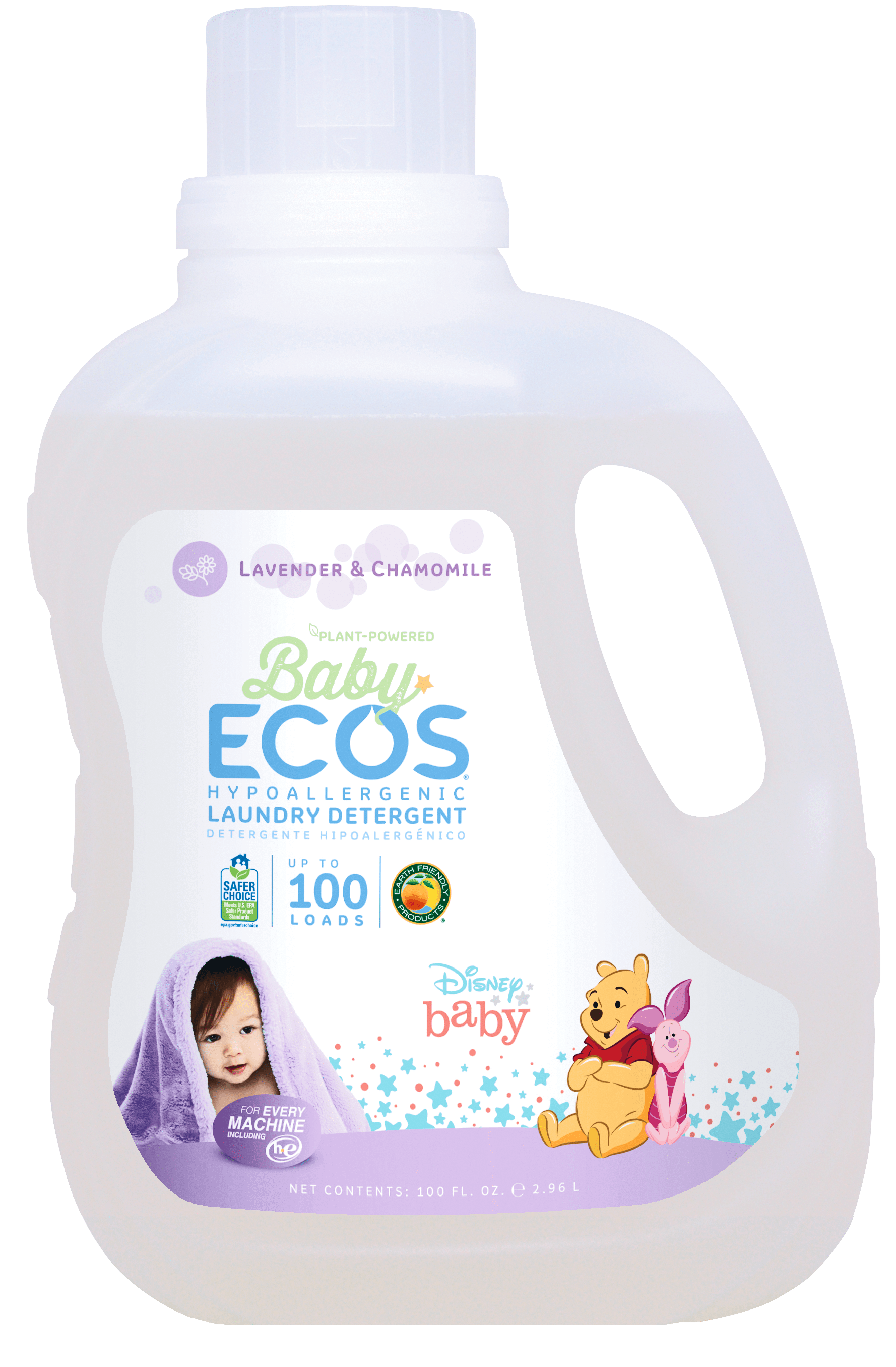 All Natural Baby Detergent Hypoallergenic Baby Laundry Ecos