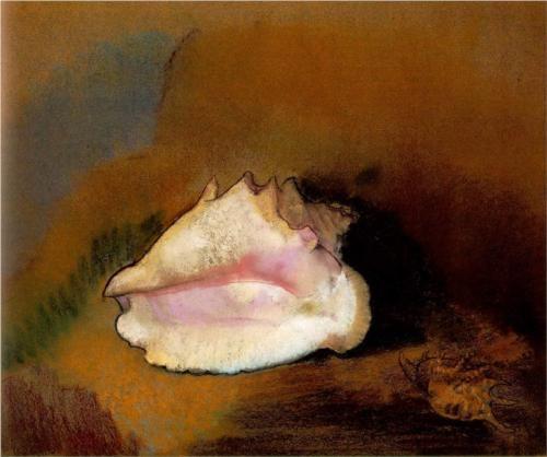 The Seashell - Odilon Redon