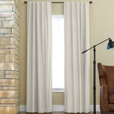 Jcpenney Home Jenner Thermal Rod Pocket Back Tab Curtain Panel In