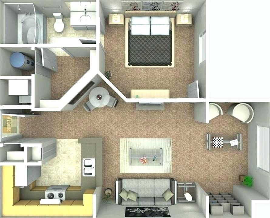 2 Bedrooms For Rent Near Me In 2020 Apartment Floor Plans Apartment Design Bungalow Interiors
