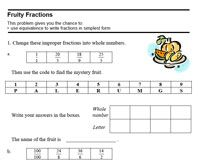 Here's a sample assessment for 5th grade students based on CCSSM. Includes a rubric and samples of student work.