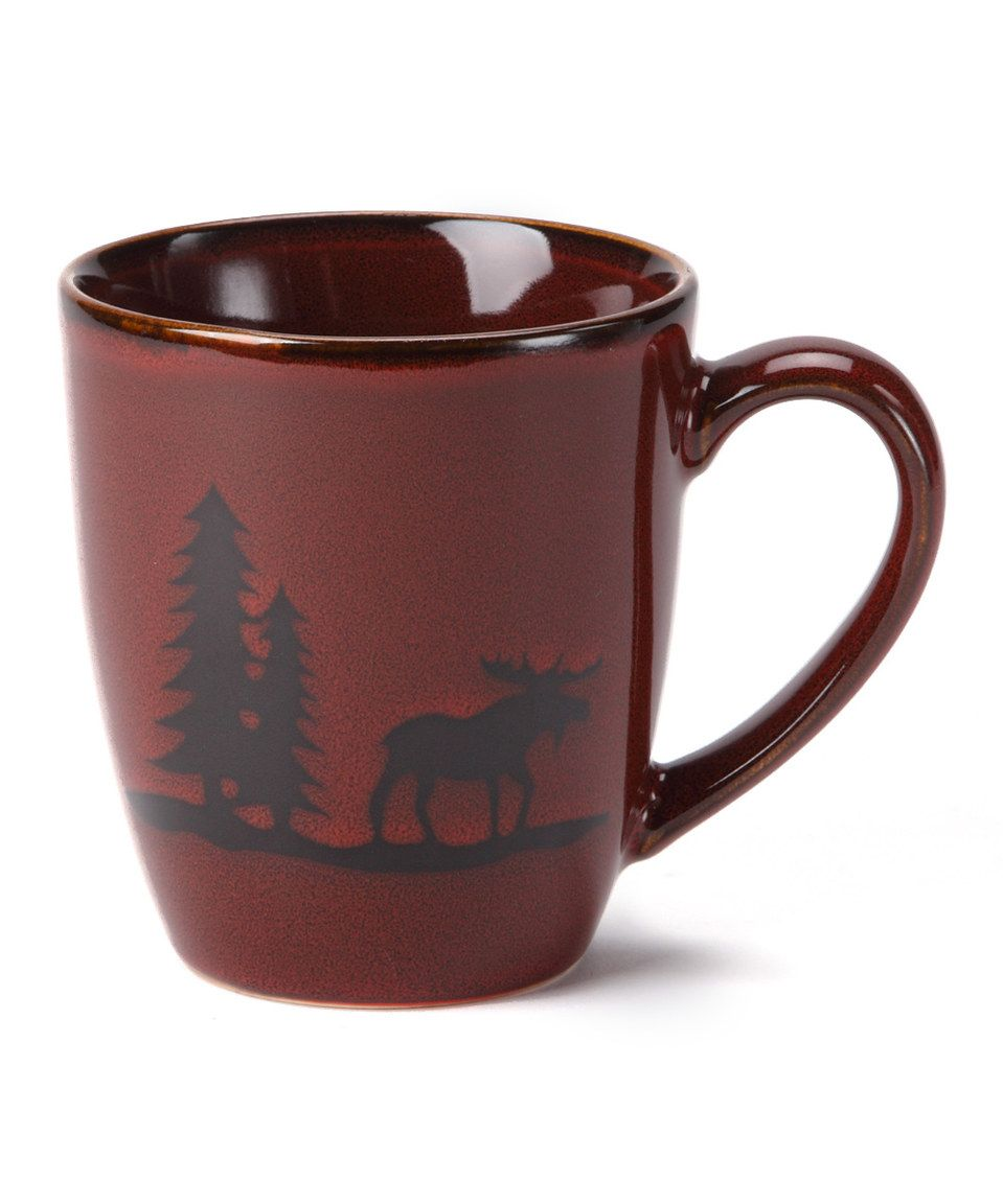 Another great find on #zulily! Woodland Moose Mug by DEI #zulilyfinds