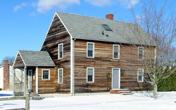 History Of Saltbox Style Homes House Plans And More Traditional House Plans Garage House Plans Saltbox Houses