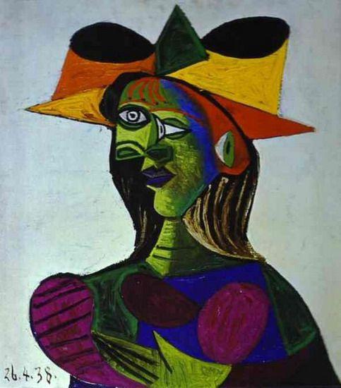 Pablo Picasso. Buste de femme (Dora Maar) 2. 1938 year | Art ...