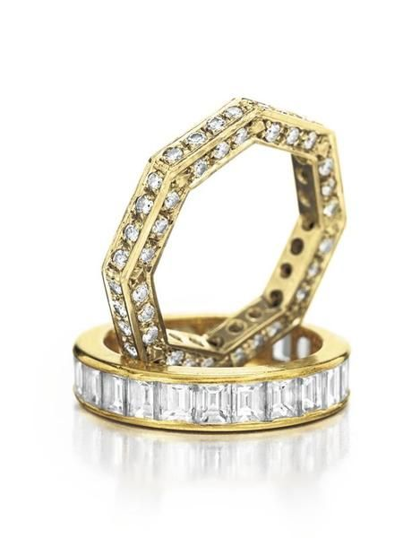 Burton Wedding Bands From The #bvlgari Elizabeth Taylor Collection.  Www.kristoffjewelers.com