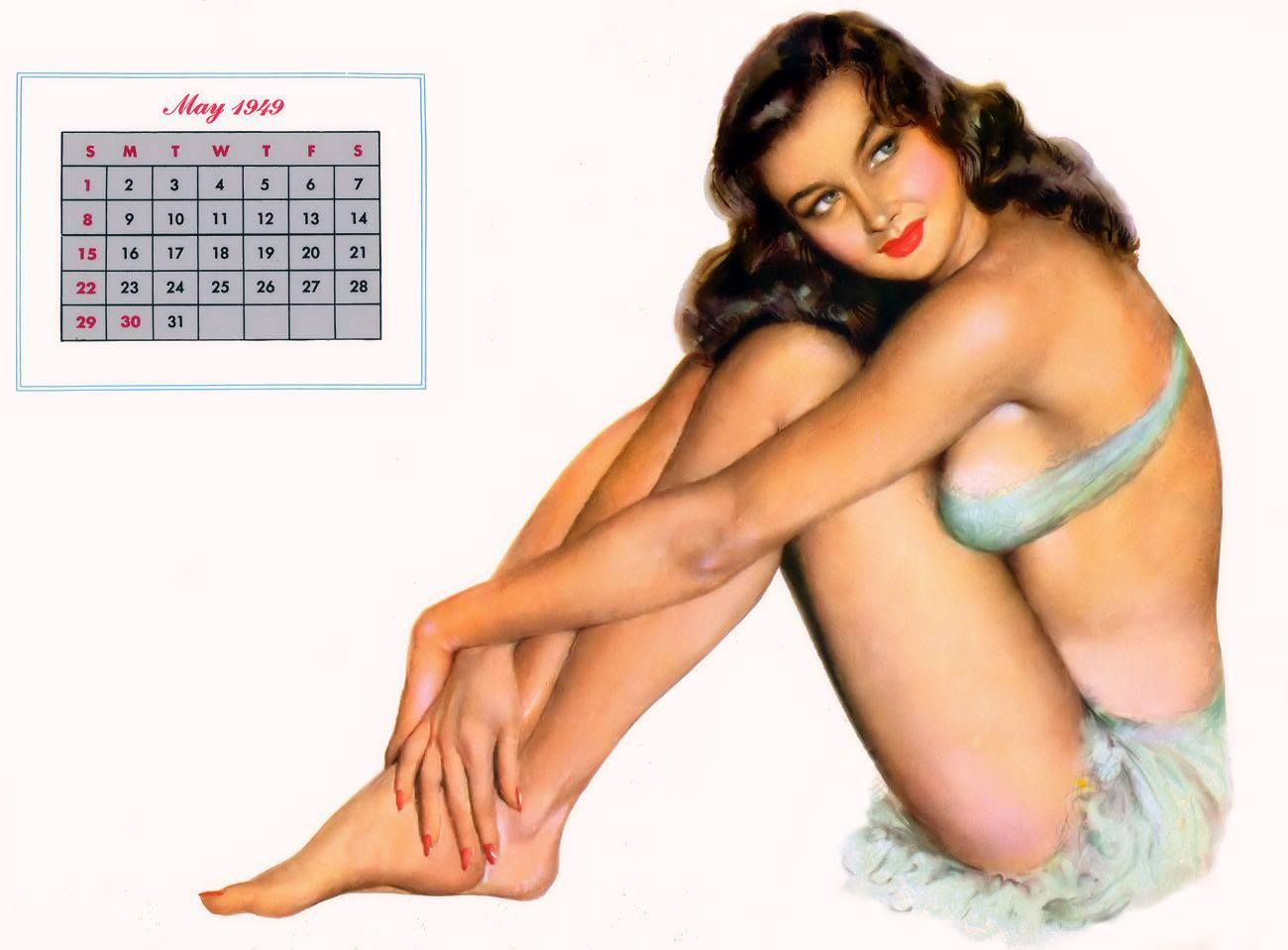 Calendar Girl May Kindle : Al moore may esquire magazine calendar girl the