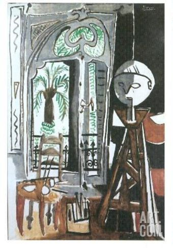 Das Atelier, c.1955 Collectable Print by Pablo Picasso at Art.com