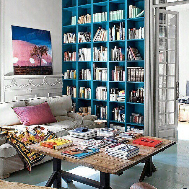 - Bring Bright Hues Home With A Colorful Bookcase