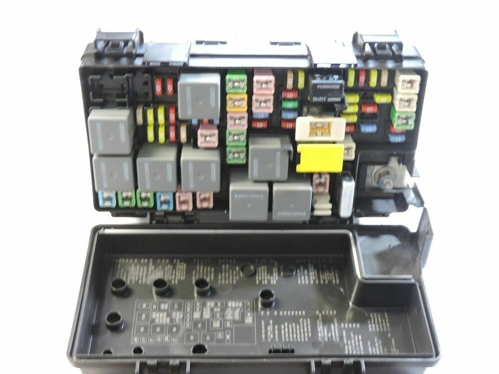 Fuse Box 2009 Dodge Grand Caravan | schematic and wiring ...