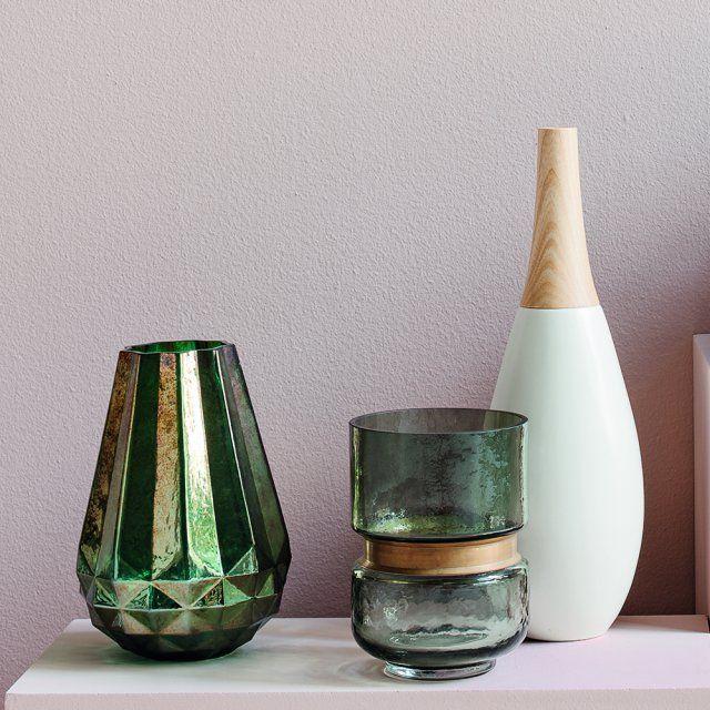 Des vases en verre mercurisé à moins de 50 euros, Fly Decorating