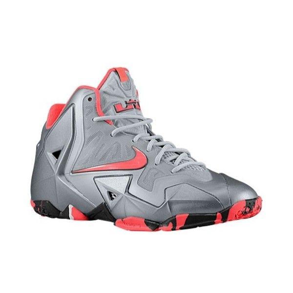 super popular 43458 f7edc Nike LeBron XI Boys  Grade School ( 140) ❤ liked on Polyvore
