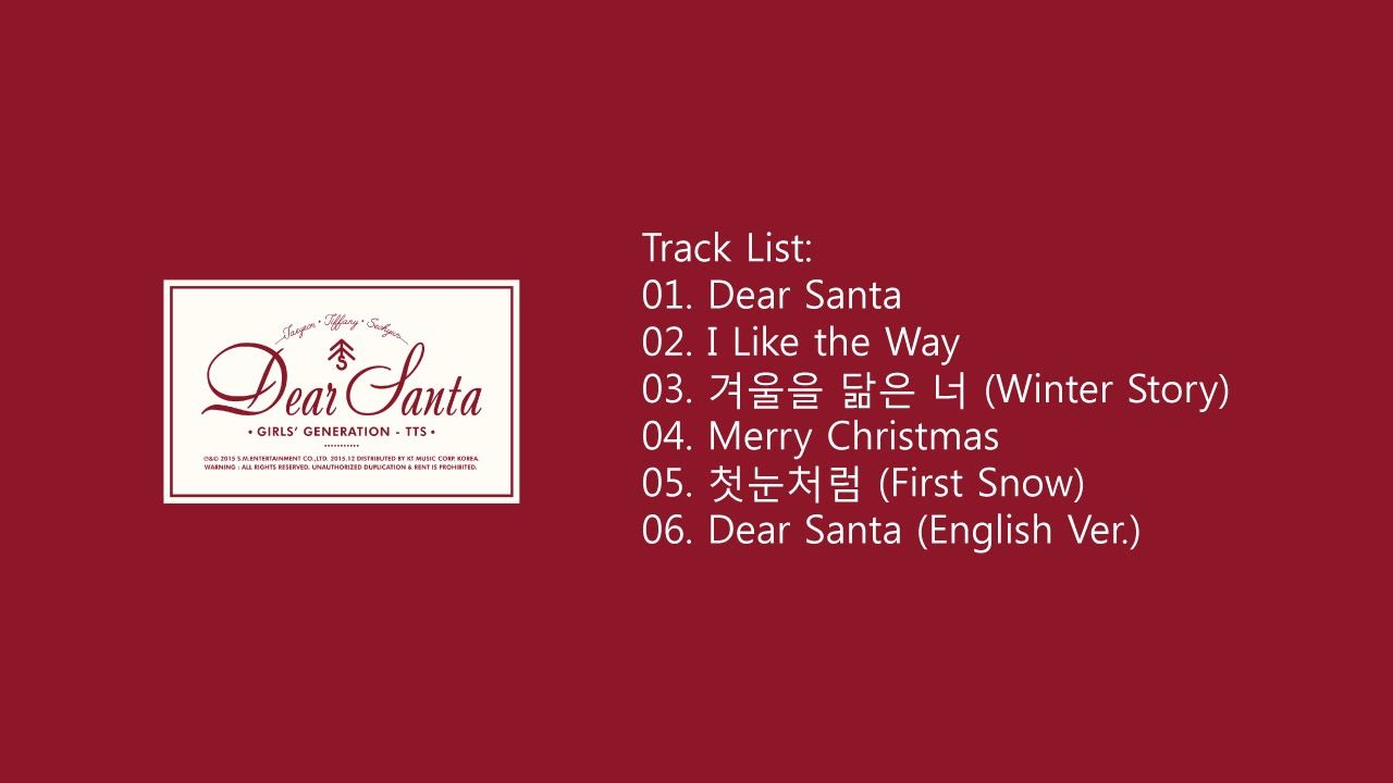 [FULL ALBUM] TTS - Dear Santa