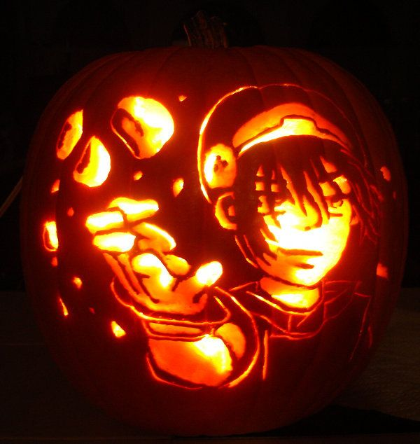 Happy Halloween Guys Heres Some Carved Avatar Pumpkins To Sp00k