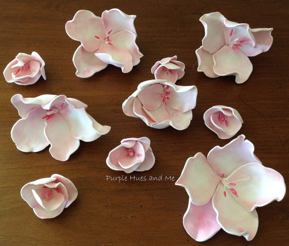 Paper Cherry Blossoms By A Petal Unfolds Paper Flowers Diy Paper Flowers Handmade Flowers Paper
