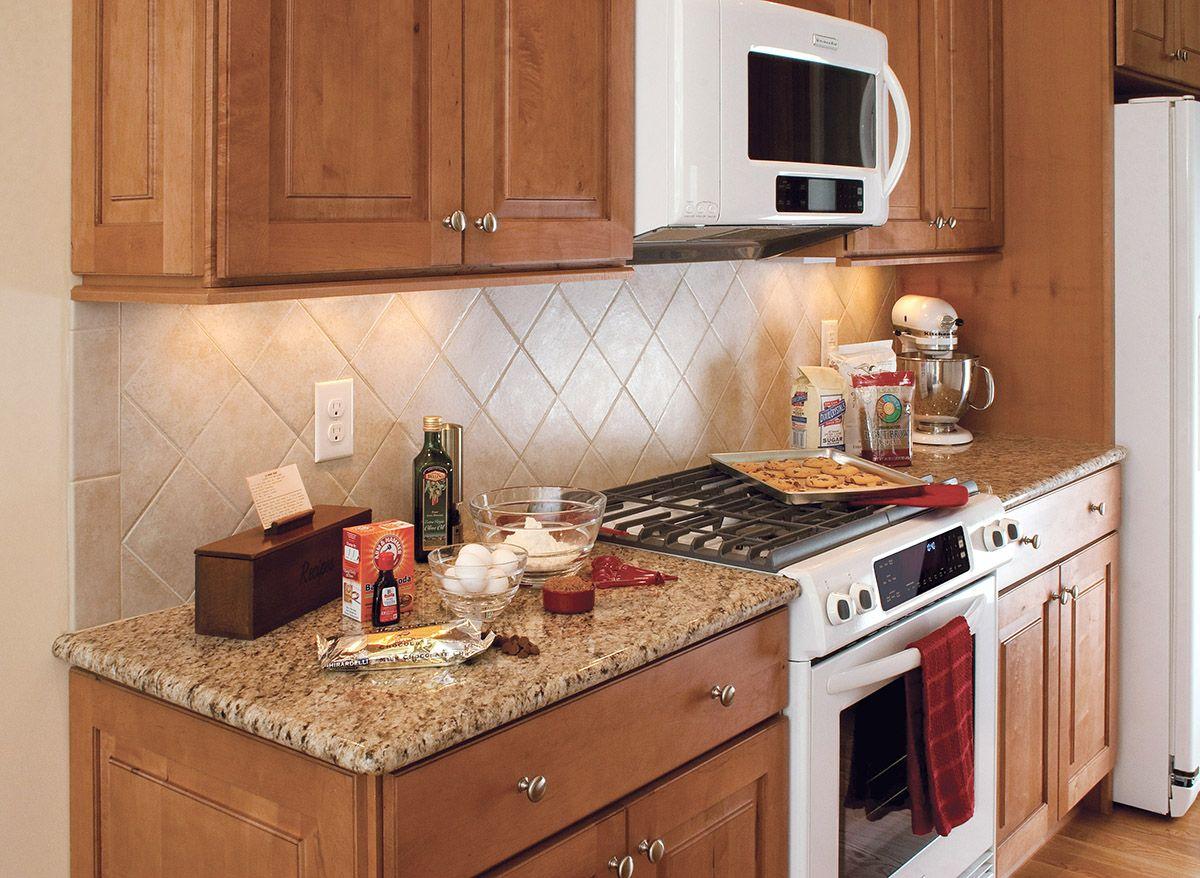 Beulah North Dakota kitchen renovation features CliqStudios Mendota Maple Caramel cabinets