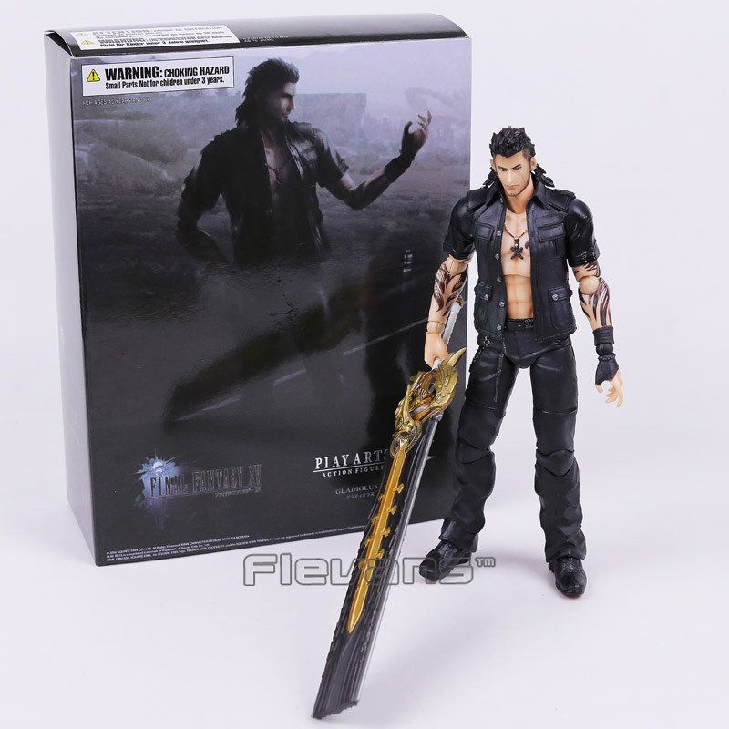 Gladiolus Amicitia PVC Action Figure Play Arts Kai Final Fantasy XV
