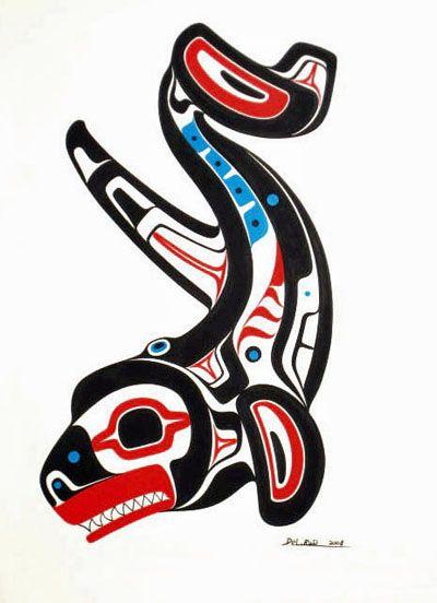 127437531 haida killer whale | my peeps from both sides of the ocean | Haida ...