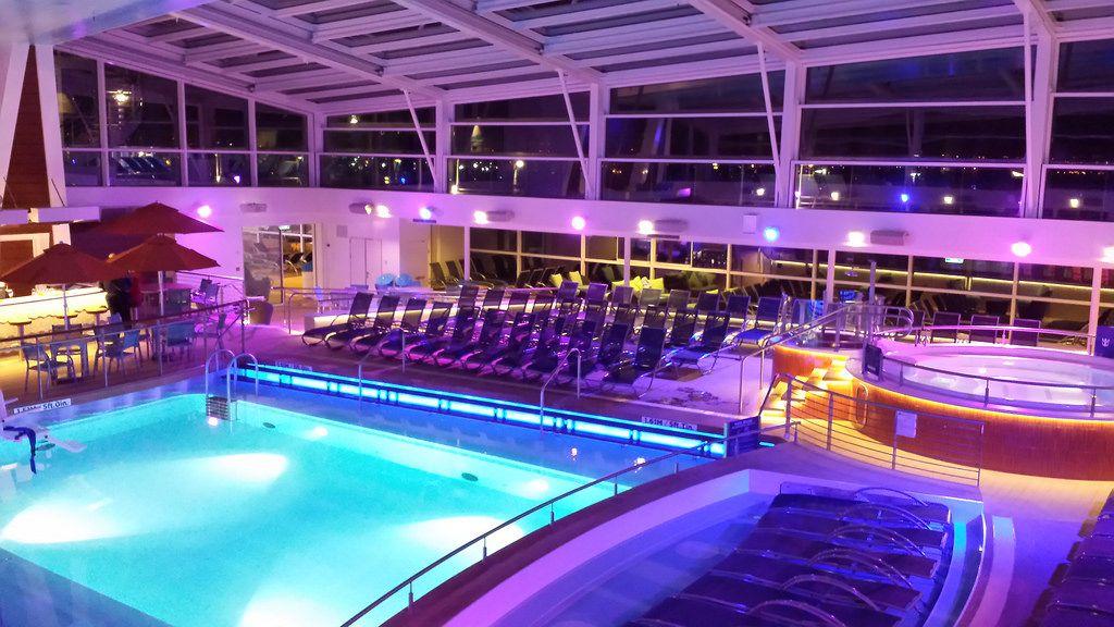 Quantum Of The Seas Indoor Pool