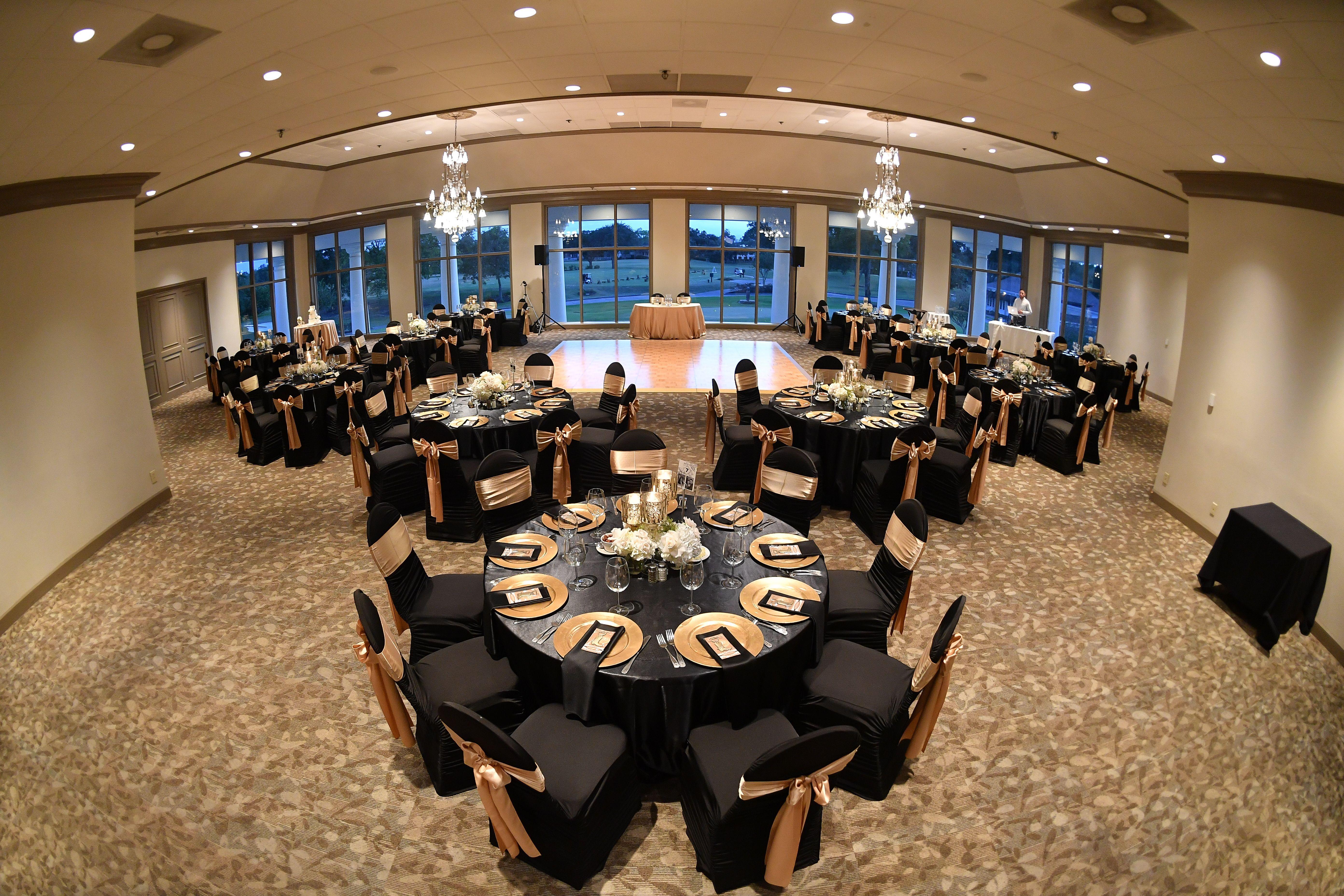 Groovy Wedding Reception With White Rose Hydrangea Centerpieces Theyellowbook Wood Chair Design Ideas Theyellowbookinfo