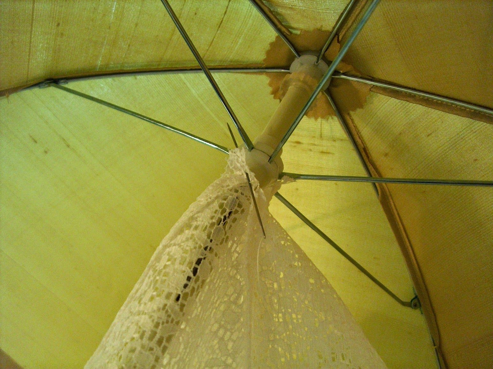 The Perfect Touch: The Historical Sew Fortnightly Challenge #17 - Yellow Parasol