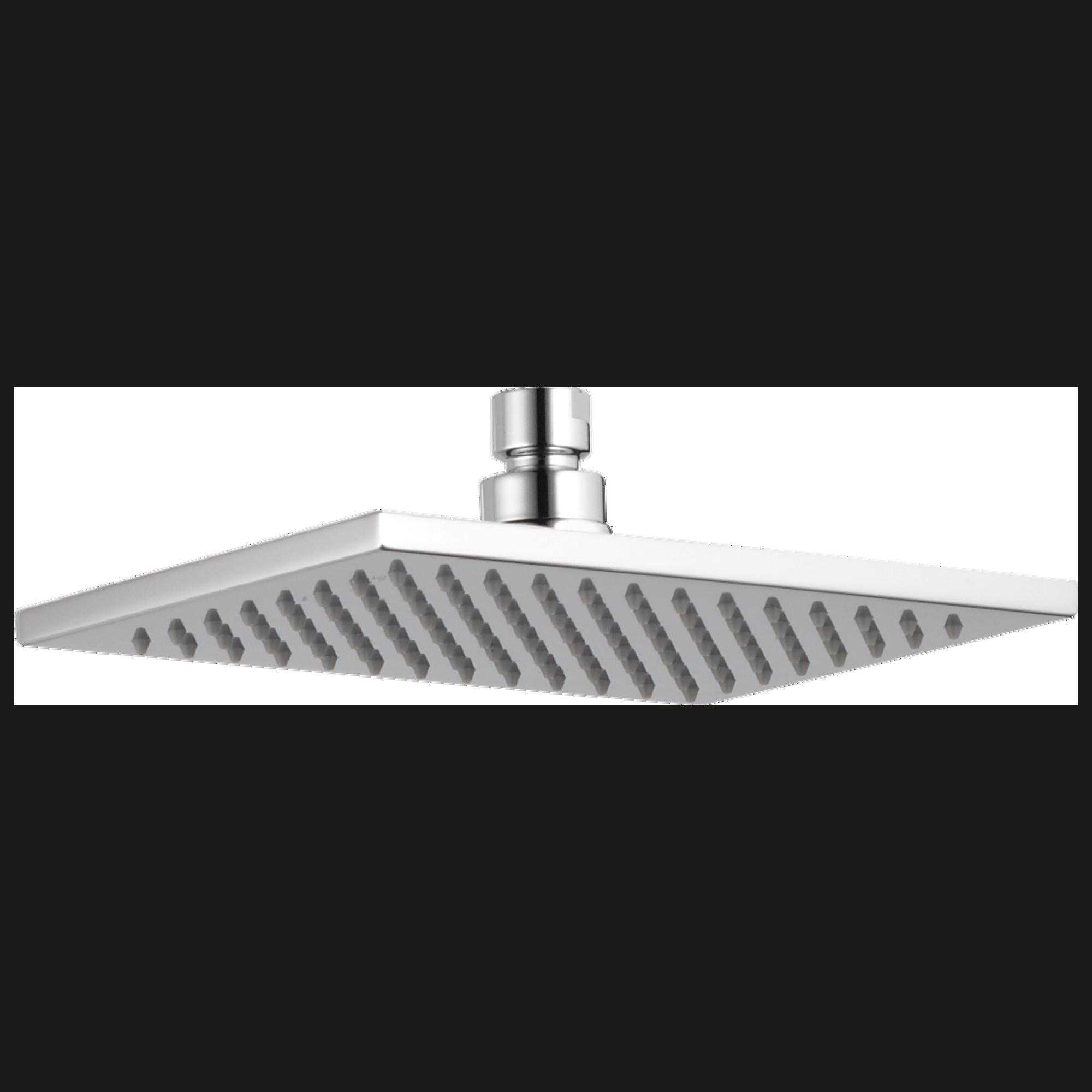 Delta Faucet Rp62955 Single Setting Raincan Shower Head Chrome