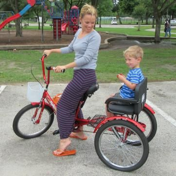 Our Buddy Tricycle By Bike Bug Is The Perfect Mode Of
