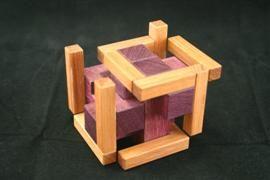 Self Framing Burr Puzzle