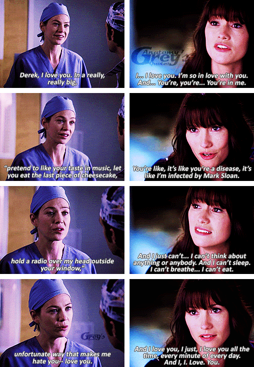 Meredith And Lexie Grey And Derek And Mark Didnt Choose Them