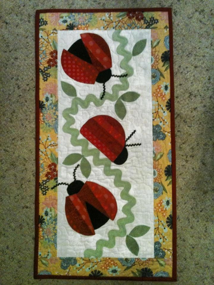 Each Quilt Is Appliqued And Can Be A Wall Quilt Or Table