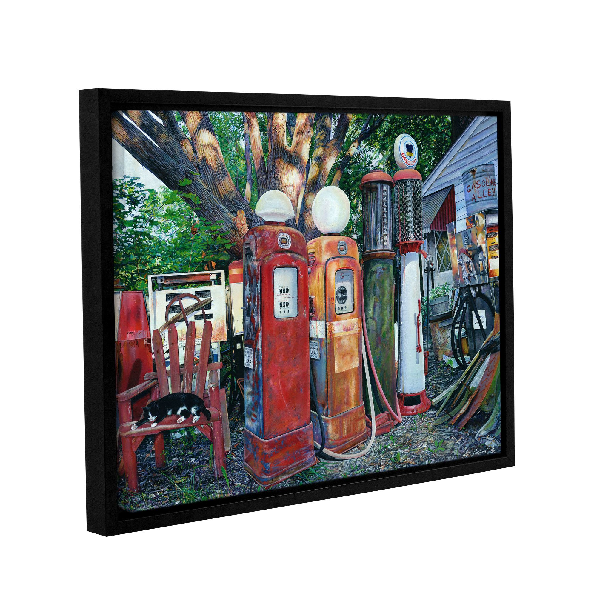 Dante's Place by Lynn Garwood Framed Painting Print