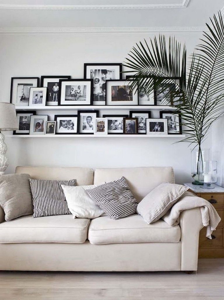 37 Inspiring Diy Family Photos Display Ideas For Apartment D