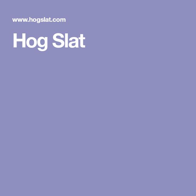 Hog Slat | farm | Pinterest