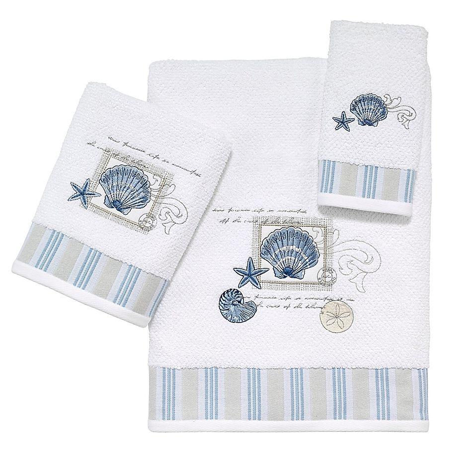 Avanti Linens By The Sea Bath Towel White