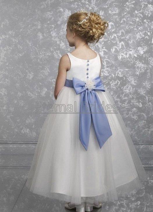 Cheap flower girl dress sleevless ball gown by EternalBrides, $46.00