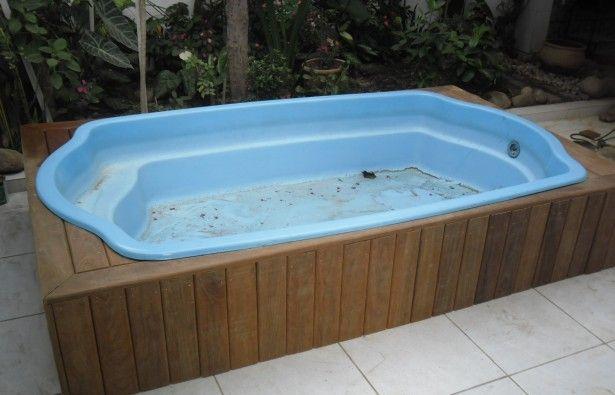 Piscina pequena com hidromassagem pesquisa do google for Decorar piscina elevada