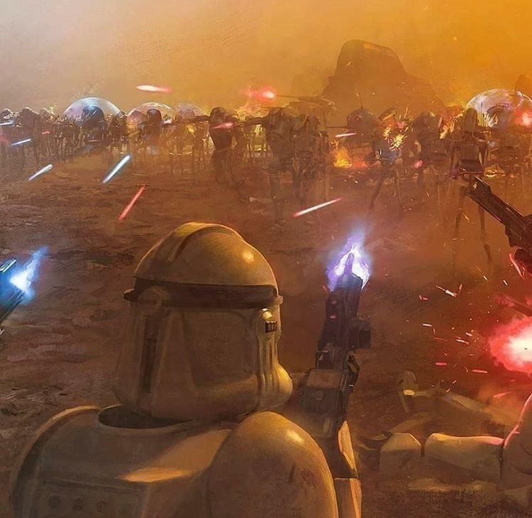 Battle Of Geonosis Star Wars Pictures Star Wars Wallpaper Star Wars Images