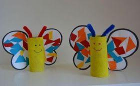 Artes Com A Letra B Borboletas Criancas Faca Voce Mesmo Arte