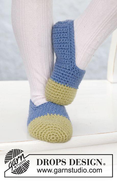 Free Pattern | Sapatos de casa (Slippers) | Pinterest | Catálogo ...