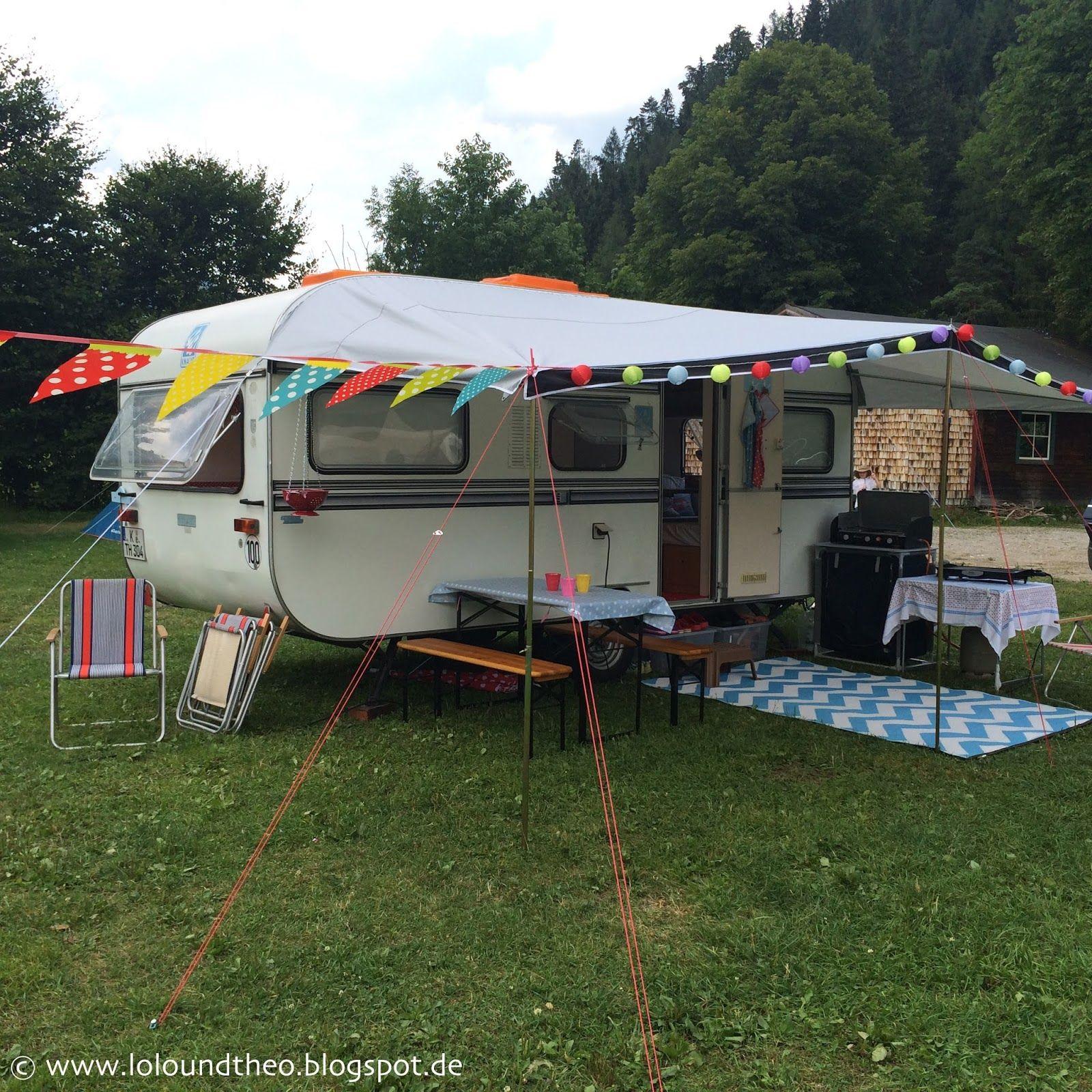 vintage wohnwagen theo in sterreich grubhof camping lofer knaus passat. Black Bedroom Furniture Sets. Home Design Ideas