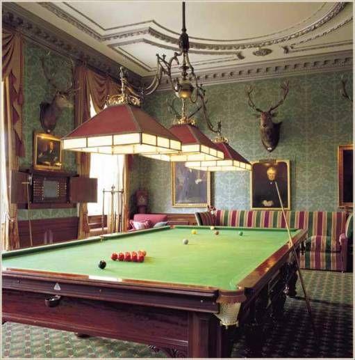 Billiard Room, Pool Table Room