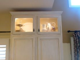 Our Fifth House: Styling Kitchen Cabinets......